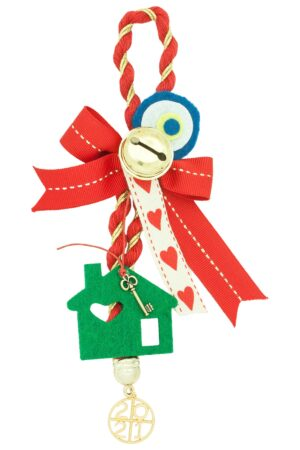 good luck charm for Christmas with house