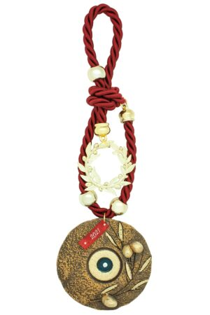 decorative gift for home with large evil eye