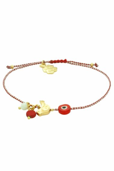 March bracelet with pigeon and evil eye