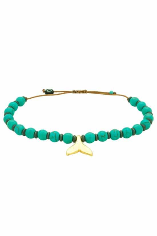 summer bracelet with fishtail