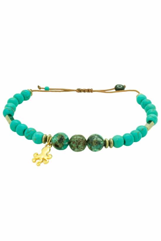 summer bracelet with octopus